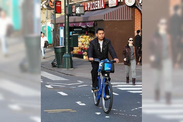 Die Millionenmetropole entdeckt das Radfahren