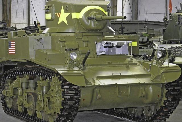 Schwere Geschütze, zierliche Panzer