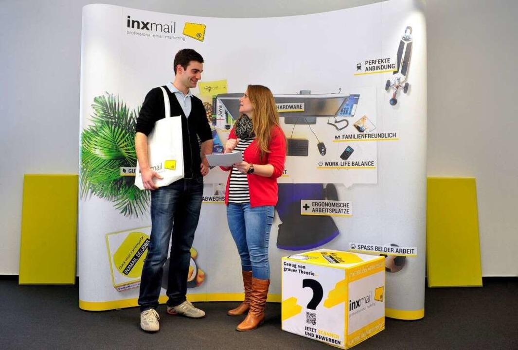 E-Mail für Dich: Firma Inxmail, Preisträgerin beim BZ-Jobmotor 2013  | Foto: Thomas Kunz