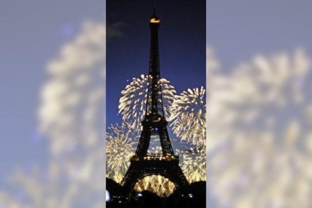 Der Eiffelturm in Paris wird 125 Jahre alt