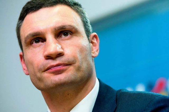 Klitschko verzichtet auf Kandidatur - neue Bewegung in Ukraine-Krise