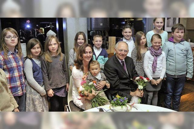 Wolfgang Schäuble besucht den Kinder- und Jugendhospizdienst