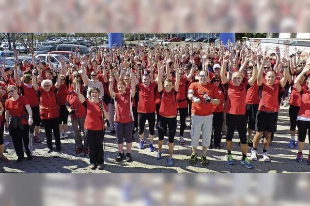 400 kommen sportlich zur Messe