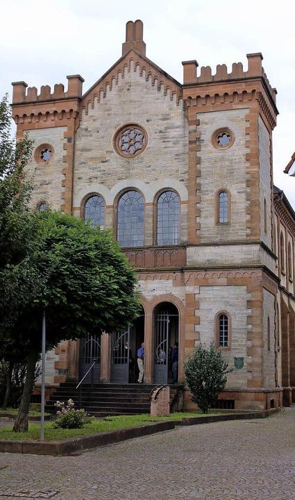 Die Kippenheimer Synagoge wurde vom Ar...t der Karlsruher Bauschule errichtet.   | Foto: eri Sieberts