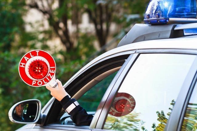 Illegales Rennen durchs Höllental – Polizei stoppt junge Fahrer