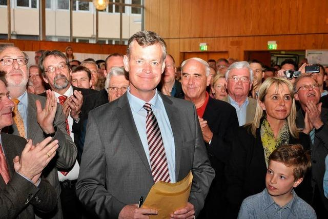 Wahlsieger Oliver Rein: