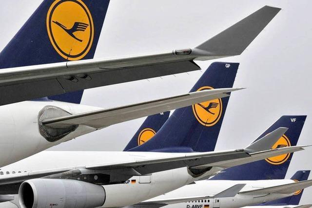 Lufthansa stellt Flugbetrieb weitgehend ein