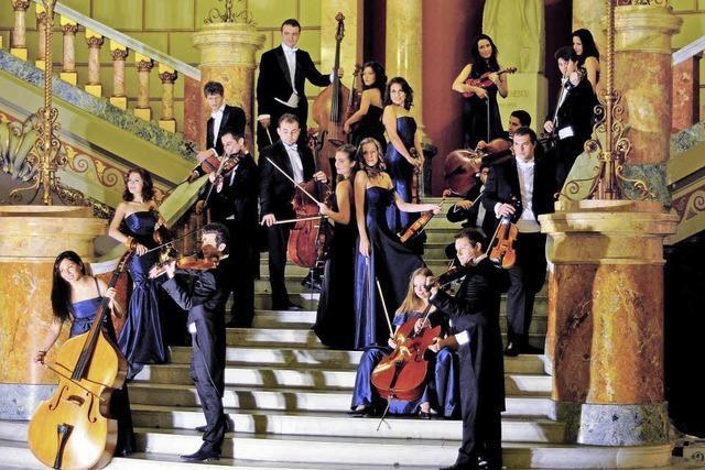 Königliches Kammerorchester Bukarest Camerata Regala spielt in Altweil