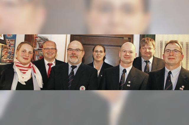 Robert Ibig seit 40 Jahren Rotkreuzler