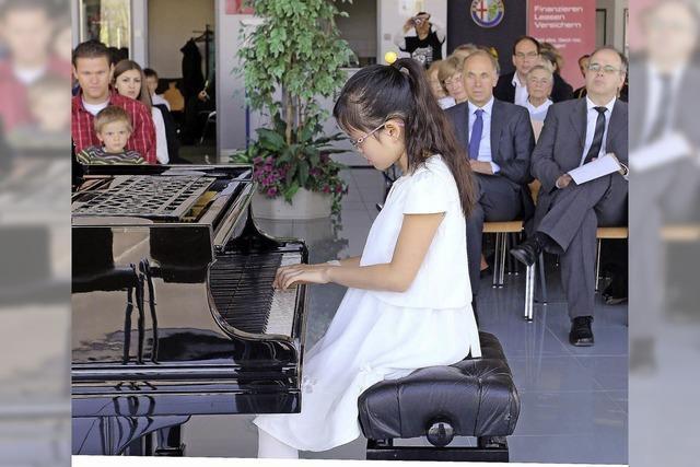 Junge Talente im Einsatz für ihre Schule