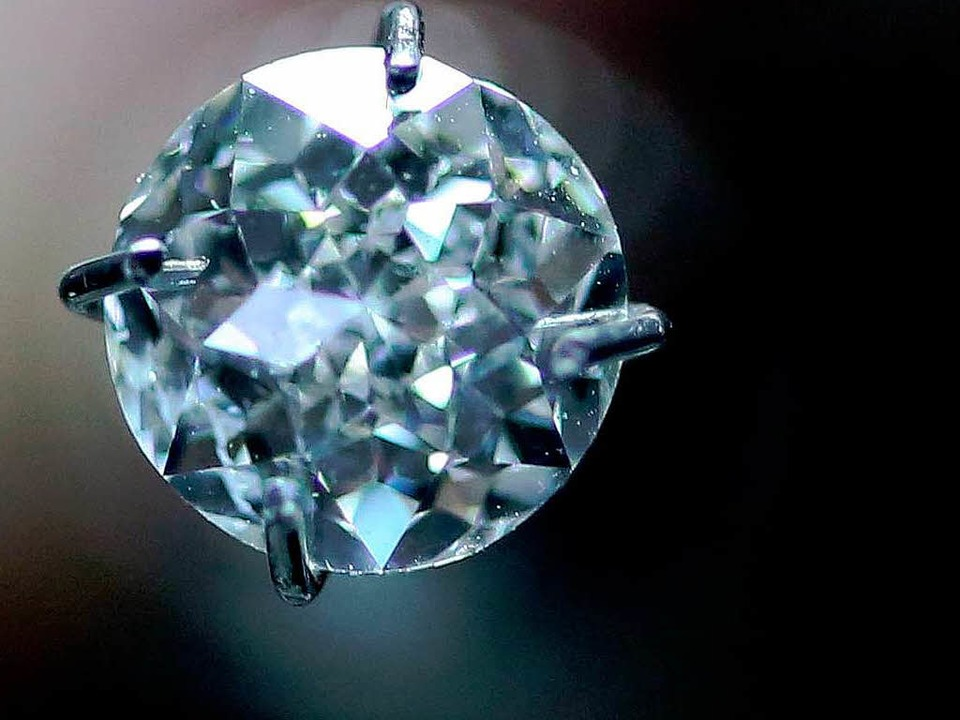 Begehrt: Diamanten  | Foto: DPA