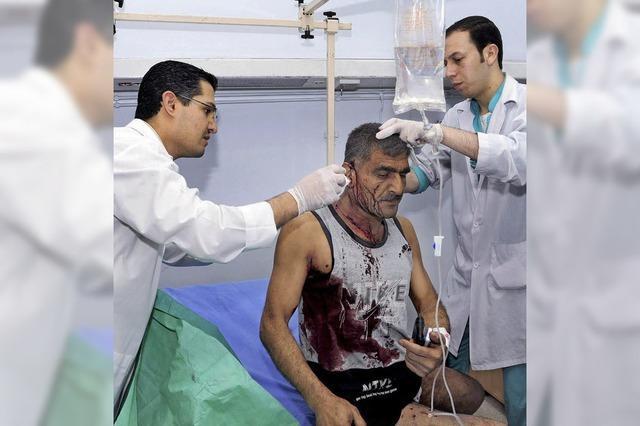 Israelische Ärzte behandeln verletzte Syrer
