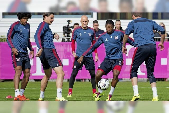 Bayern vor dem Viertelfinale bei Manchester United