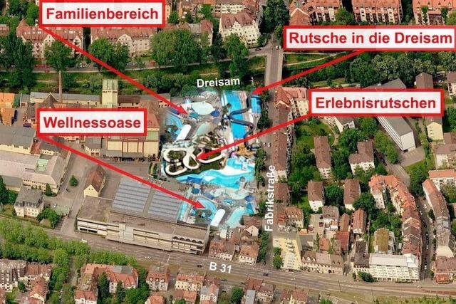 Galaxy-Badewelt entsteht auf dem Ganter-Areal in Freiburg