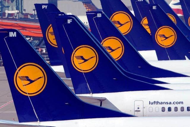 Pilotenstreik: Lufthansa stellt Flugbetrieb weitgehend ein