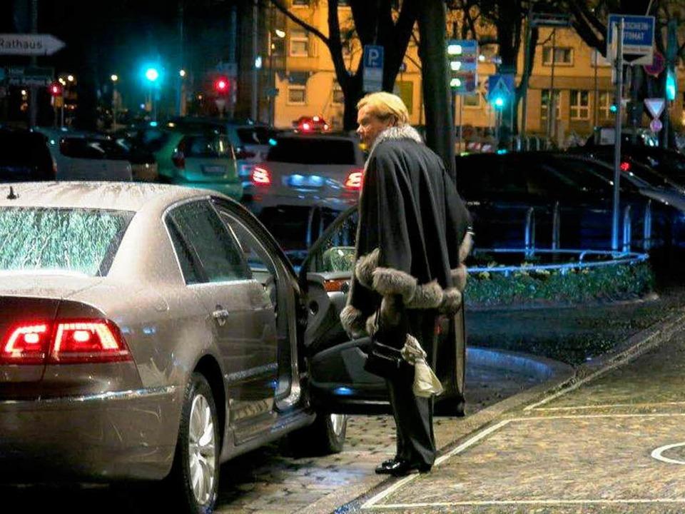 Barbara Scheel nach dem Eklat im Freiburger Colombi-Hotel vergangene Woche  | Foto: bz