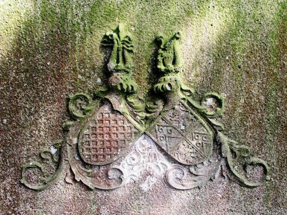 Das Grab ohne Hakenkreuz.  | Foto: Horst David