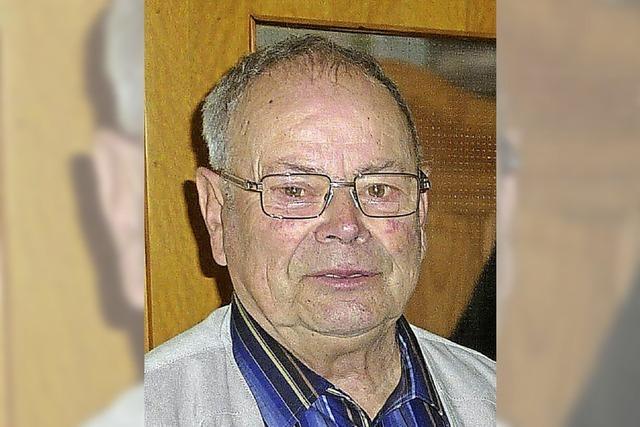 Erich Meier wurde 80 Jahre