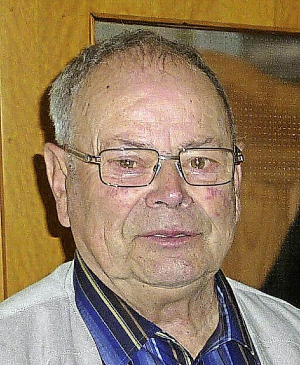 Erich Meier wurde 80.     Foto: Lauffer