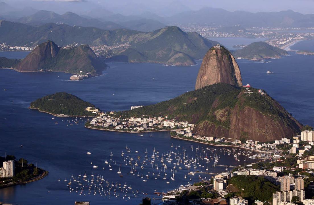 Den  Zuckerhut in Rio de Janeiro kennt...im Stiftsschaffneikeller Gelegenheit.     Foto: BASTIAN HENNING