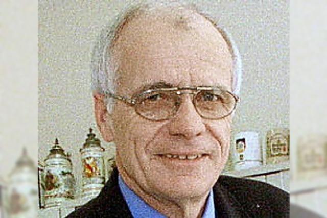 Wolfgang Scheidgen lebt nicht mehr