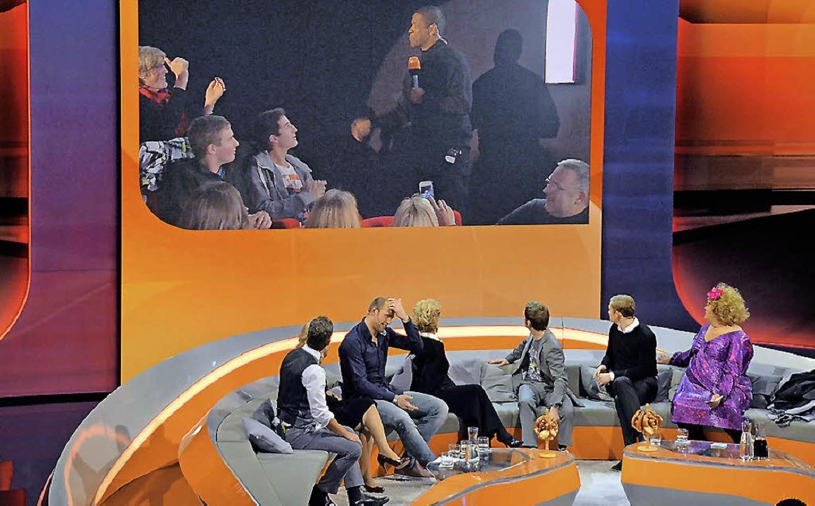 Hollywood-Star Denzel Washingten (oben...e Gäste des Forum-Kinos in Offenburg.     Foto: ralf burgmaier