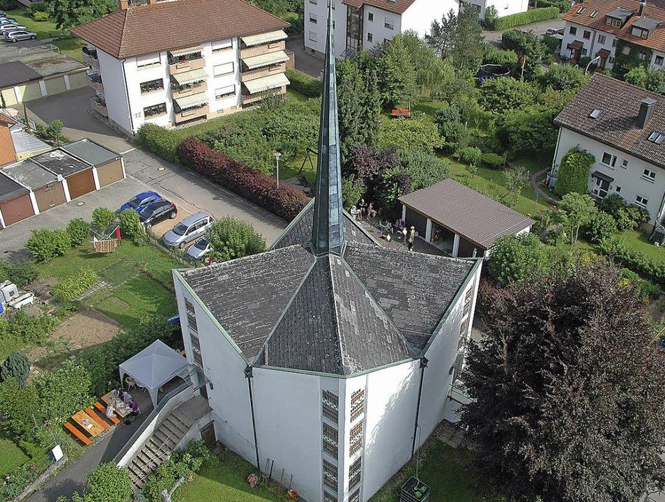 Die Steinener Christuskirche ist ein S...h der Förderverein einiges einfallen.   | Foto: Vera Winter