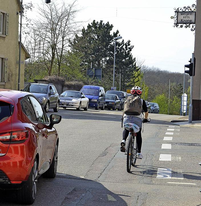 Schlüsselstraße, Verkehr  | Foto: Julia Jacob