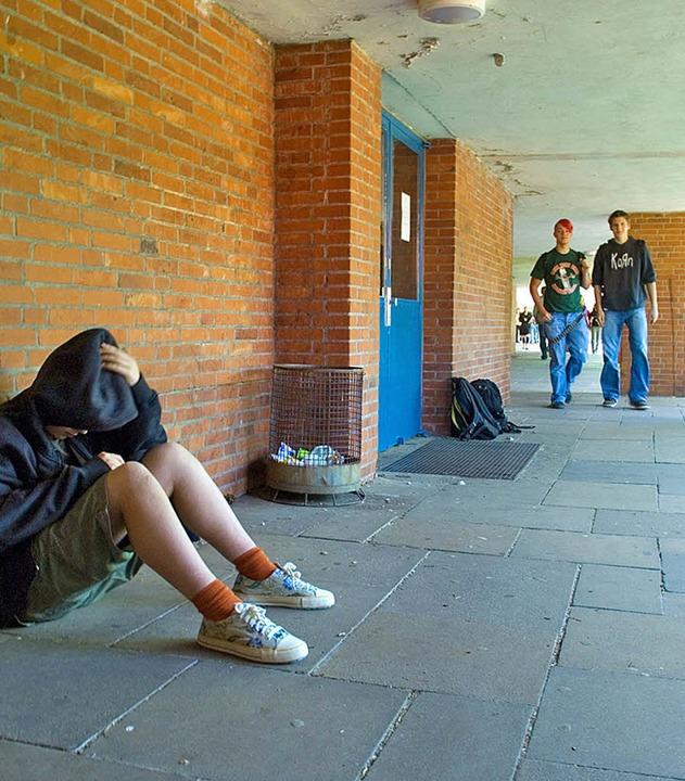 Konflikten an der Schule lösen helfen:...larbeiter oder eine Sozialarbeiterin.     Foto: Techniker-Krankenkasse