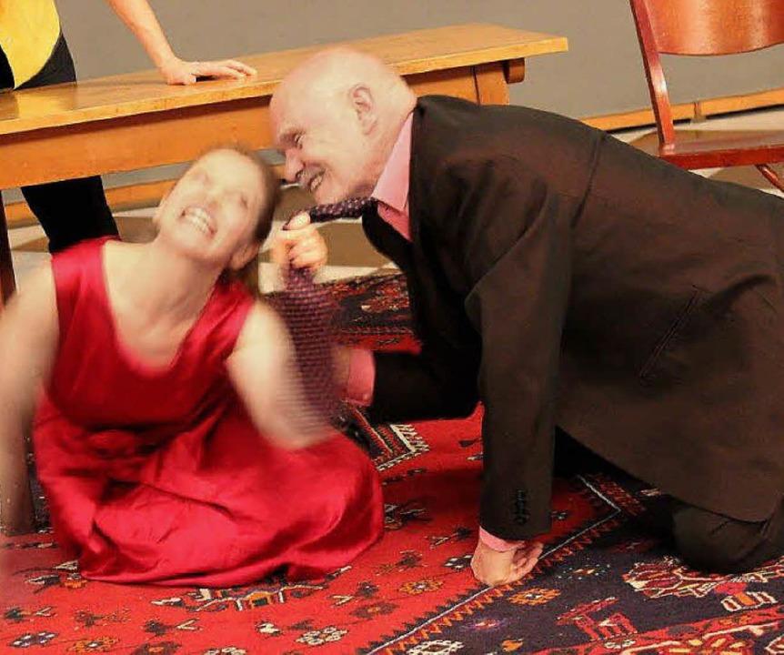 Theater Blackbox: Pinters Geburtstagsfeiert. Mit Andreas Rathke und Tabea Maire  | Foto: promo