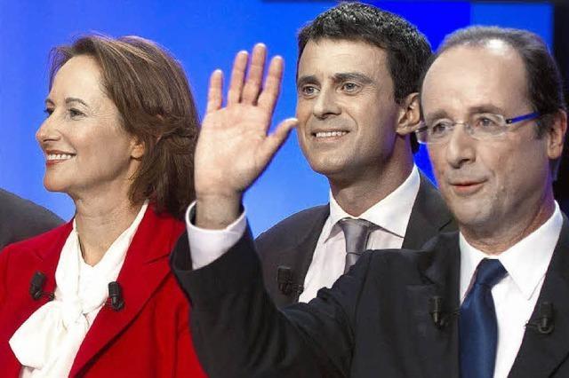 Premierminister Valls stellt neue Regierungsmannschaft vor