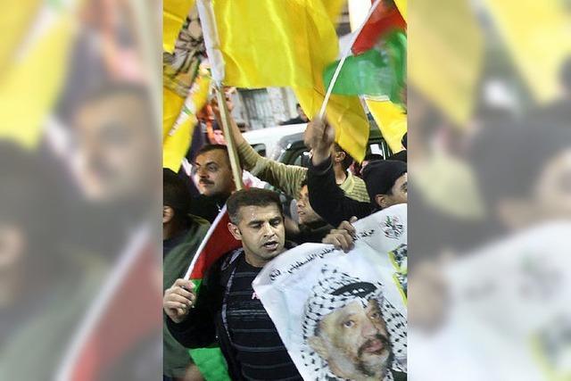 Abbas riskiert Friedensgespräche