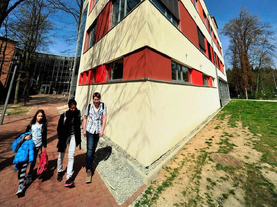 Gymnasialplätze sind vor allem im Frei...nte im Neubau noch welche einrichten.   | Foto: Thomas Kunz