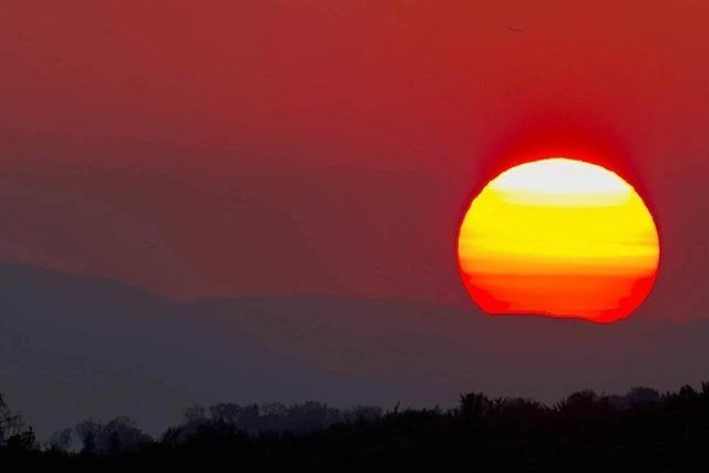 Wüstensand weht nach Südbaden – Färbung am Himmel