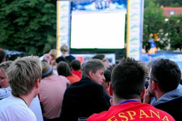 Public Viewing zur WM noch nicht genehmigt