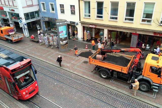 Oberleitungsschaden in Freiburg – Straßenbahnen standen still