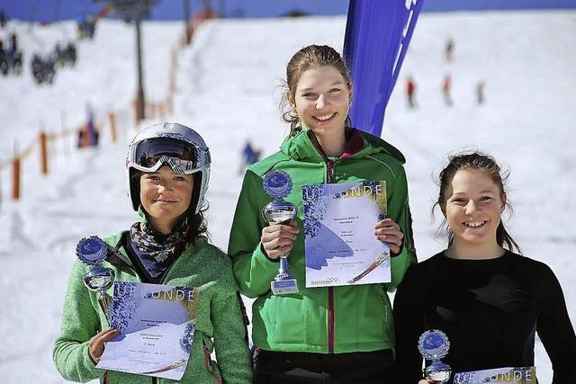 Winterausklang mit zwei Schülerrennen