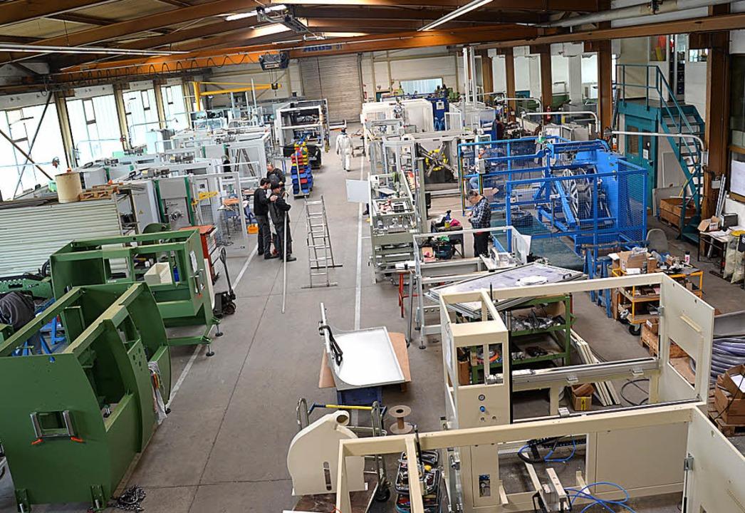Graewe erweitert die  Produktionsfläche um ein Drittel.     Foto: Umiger