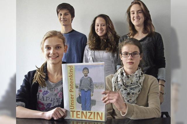 Hebelianer helfen Tenzin
