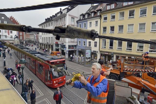 Bauarbeiten legen Tramverkehr lahm