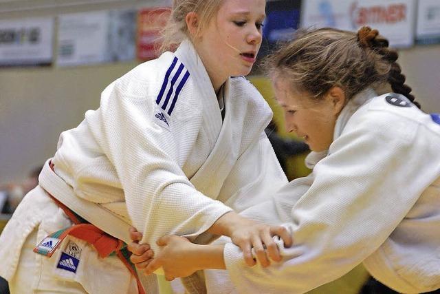 Nachwuchstalente ergattern Judo-Titel