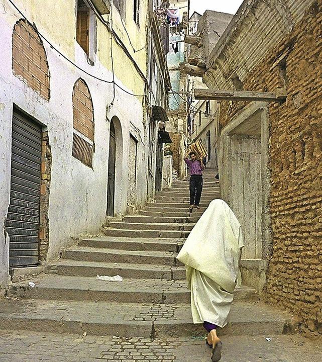 Eine Straßenszene aus Algier   | Foto: AFP/Scherhaufer