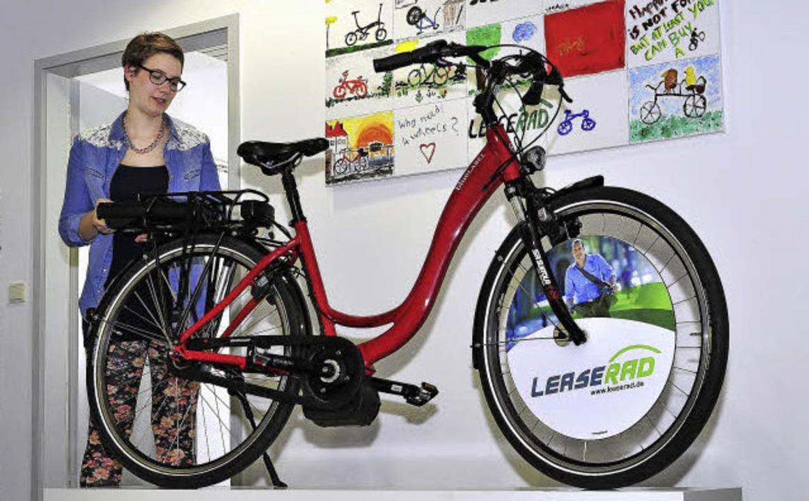 Das Jobrad gibt es auch mit elektrischem Rückenwind.   | Foto: Thomas Kunz