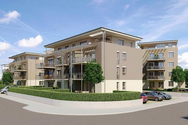 Vier neue Wohnhäuser für Breisach