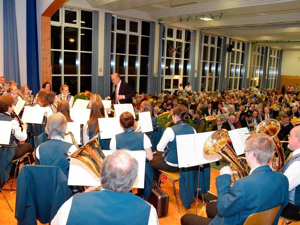 … wie der Musikverein Merdingen.    Foto: Manfred Frietsch
