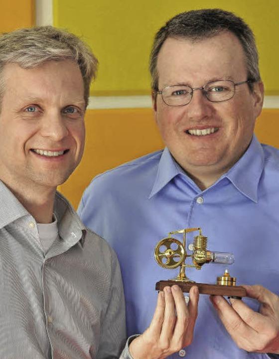 Die Inxmail-Geschäftsführer Martin Bucher (li.) und Peter Ziras    Foto: Thomas Kunz