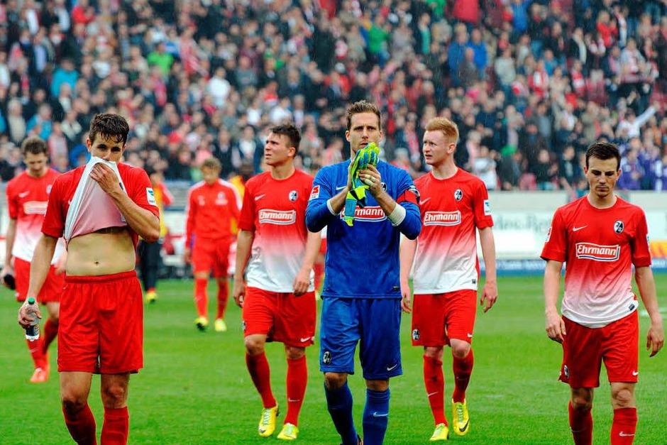 Der SC Freiburg hat sich von Stuttgart in der zweiten Halbzeit den Schneid abkaufen lassen. Nächste Woche geht es gegen Braunschweig. (Foto: Meinrad Schön)