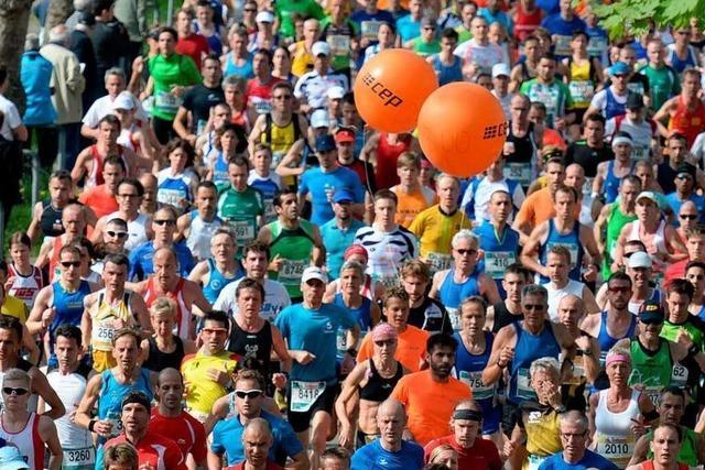 Fotos: Freiburg-Marathon 2014, Teil I