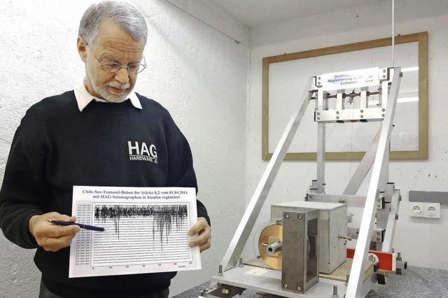 Chile-Beben in Staufen registriert