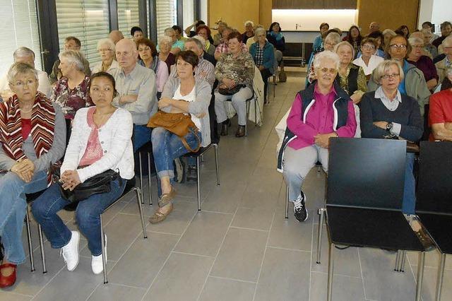 Schwesternverband informiert über Seniorenheim
